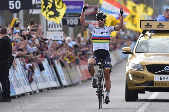 Sagan Wins Tour Of Flanders - Airevelo Bearings