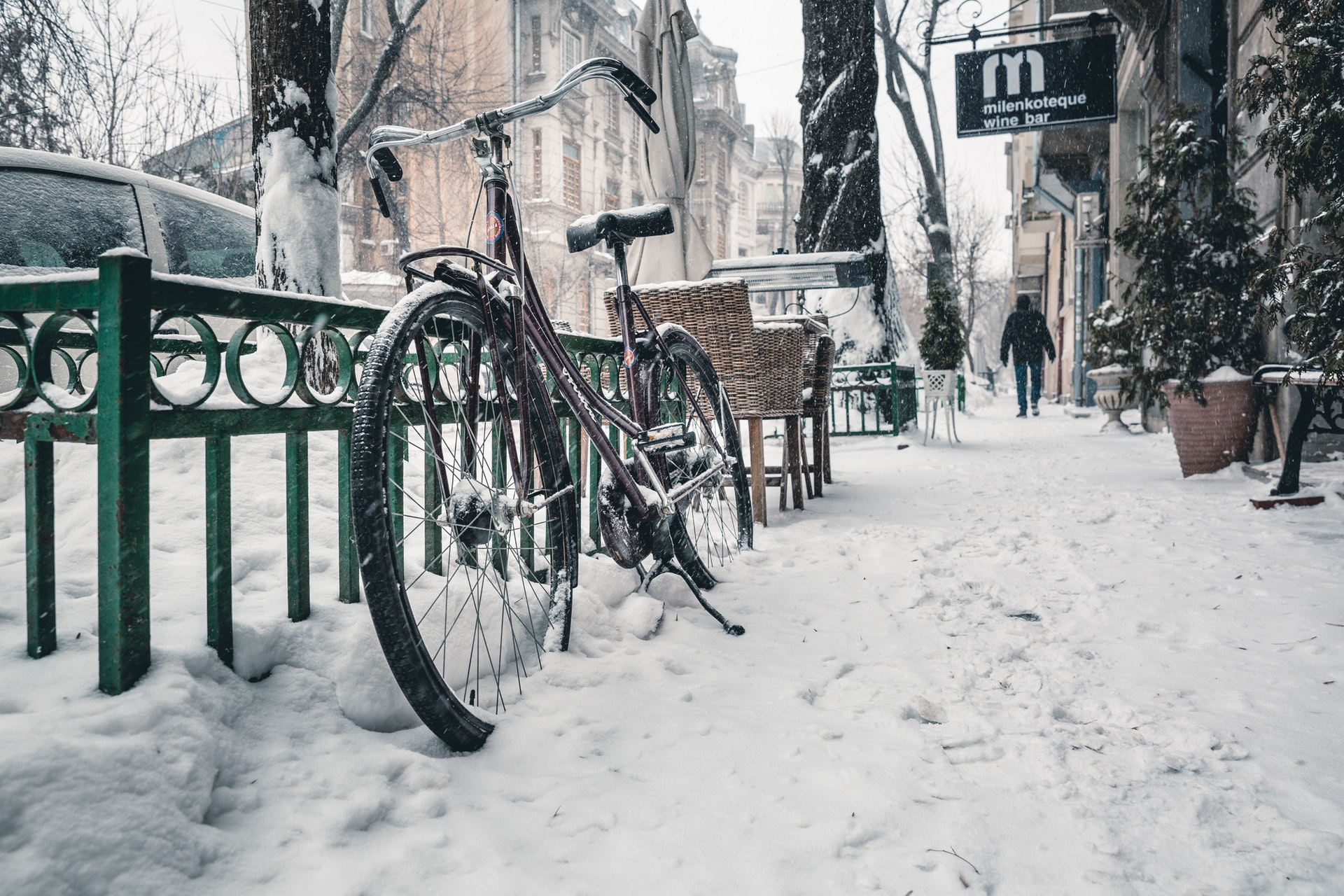 Cycling In The Cold